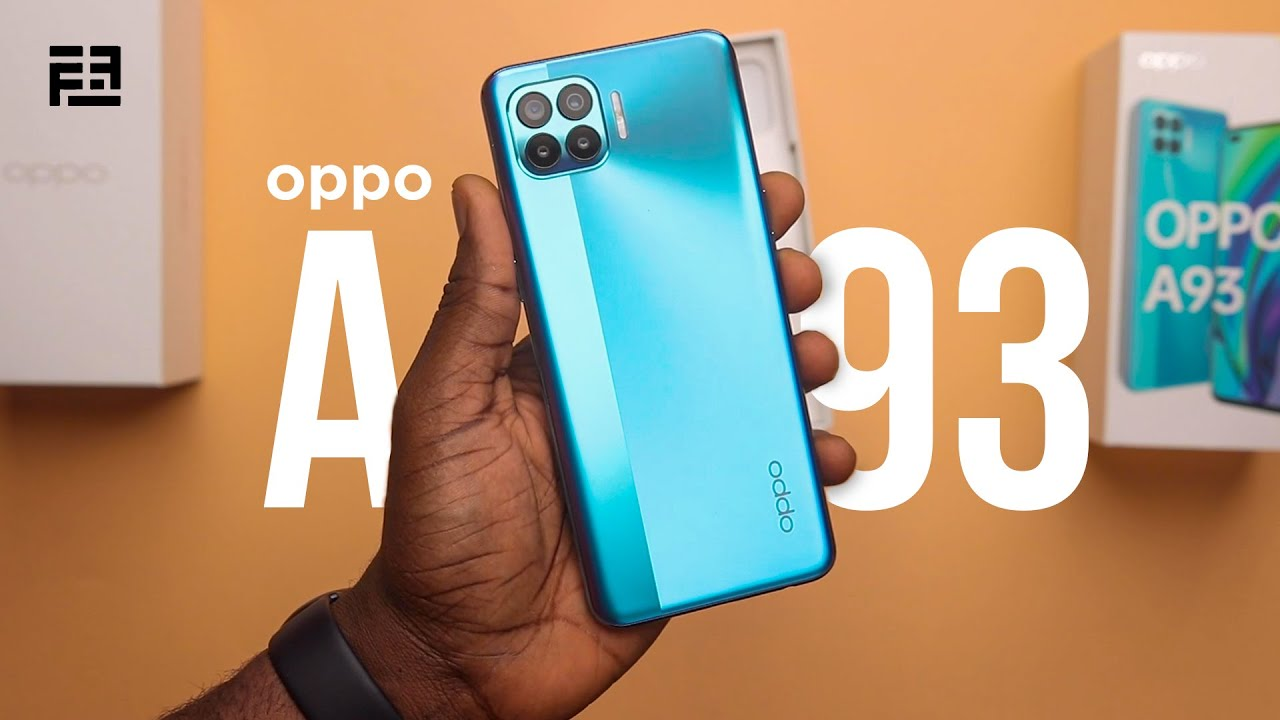 video Oppo A93 8GB RAM / 128GB ROM Android 10