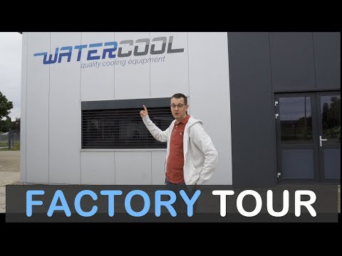 Watercool Factory Tour and How Heatkillers are Made!