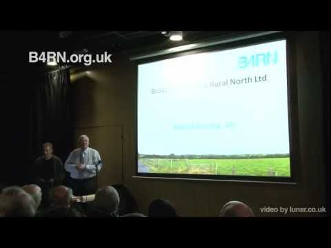 Broadband For the Rural North (B4RN) Launch Event Presentation