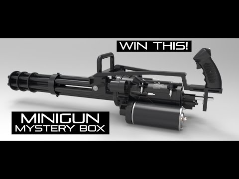 Win a MINIGUN?! Double Tap Mystery Box | MINIGUN Dreams | AirsoftGI.com