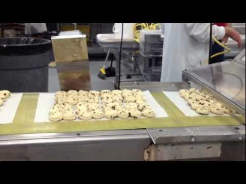Automated Cookie Depositor with Pneumatic Indexing and Paper Cutting