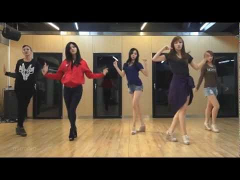 EXID - Every Night mirrored Dance Practice