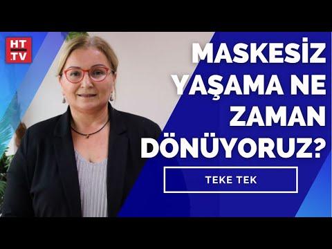 Maskesiz yaşama ne zaman dönüyoruz? Prof. Dr. Pınar Okyay yanıtladı