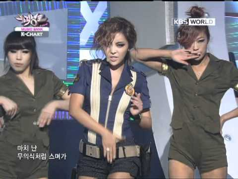 [Music Bank K-Chart] Sixth Sense - Brown Eyed Girls (2011.10.07)