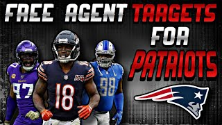 4 Free Agents the Patriots could Sign BEFORE Training Camp