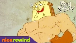 Official Powdered Toast Man Commercial | Ren & Stimpy | NickRewind