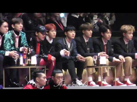 161202 MAMA NCT TEN Reaction to TWICE