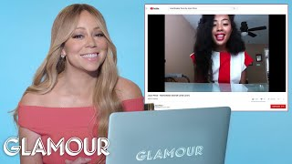Mariah Carey Watches Fan Covers On YouTube   Glamour