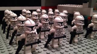 LEGO STAR WARS - BATTLE on Saleucami