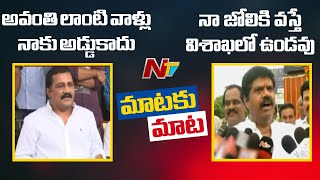 Avanthi Vs Ganta War Of Words: Avanthi Srinivas Strong Co..