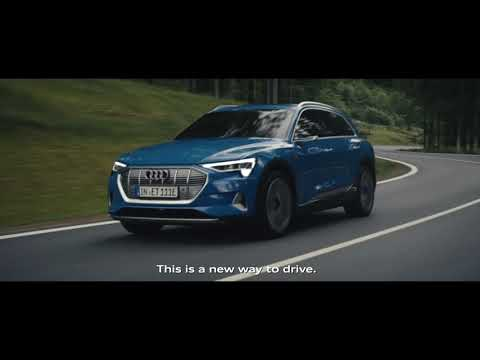 Audi e-tron - elektrisk kjøreglede.