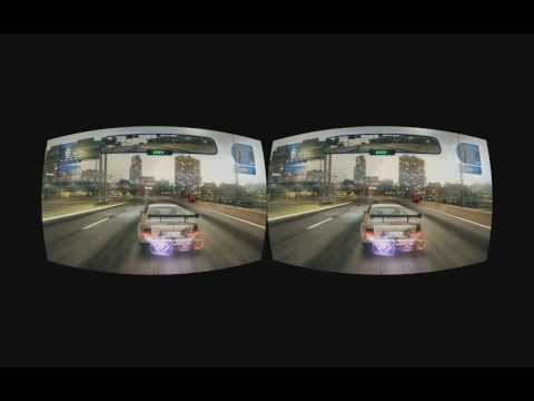 Blur stereoscopic 3D realtime rifted for Oculus Rift