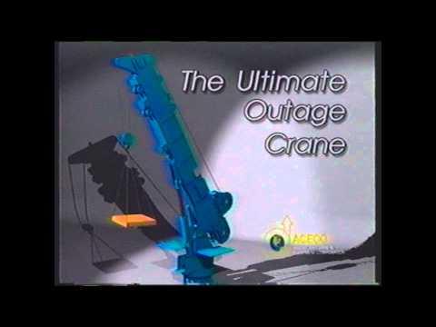 American Crane Nuclear Jib Crane