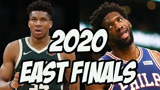 Way Too Early 2020 NBA Eastern Conference Finals Prediction - 76ers vs Bucks