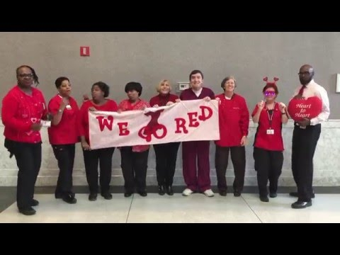 Mercy Health System Go Red Dance 2016