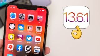iOS 13.6.1 Released - What's New?