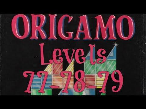 Origamo (1994) - PC - Levels 77, 78 & 79 - Basic Mode