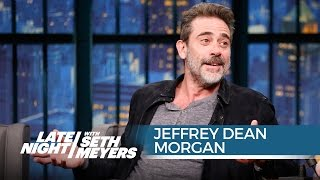 Jeffrey Dean Morgan Talks Joining The Walking Dead - Late Night with Seth Meyers