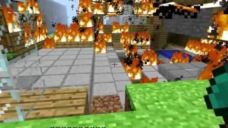Minecraft FIREE WTFFFFFFF!!!!!