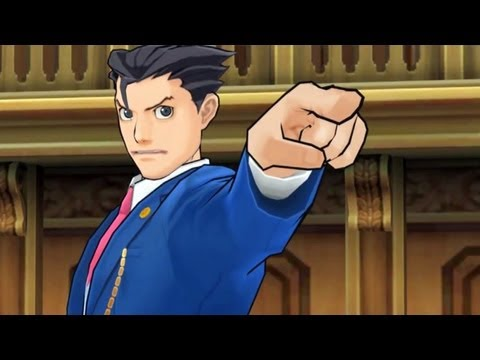 Phoenix Wright - Dual Destinies Announcement Trailer - Smashpipe Games