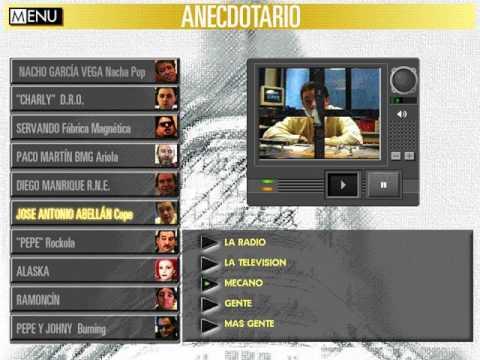 La Edad de Oro del Pop Español (Anecdotario: Cadena COPE - Abellán) (Dinamic) (Windows 3.x) [1994]