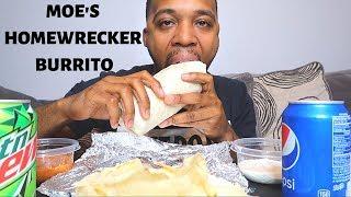 MOE'S HOMEWRECKER BURRITO MUKBANG | Taco Tuesday with Deb | FRITZ FAMILY ENTERTAINMENT