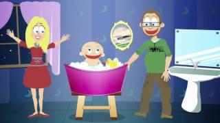 BEBA  BRC, BRC  ( Kupa mene mama) Pesma za decu, BABY'S BATH