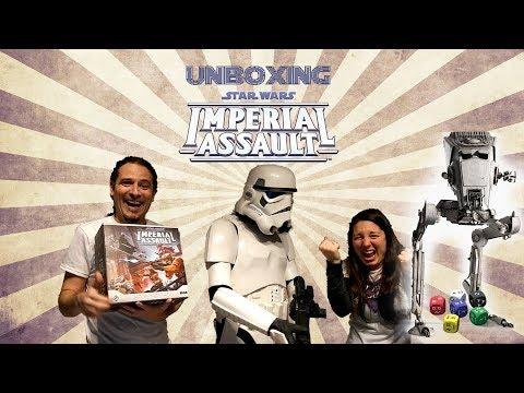 Yo Tenía Un Juego De Mesa TV #30: Imperial Assault - Unboxing de la caja base