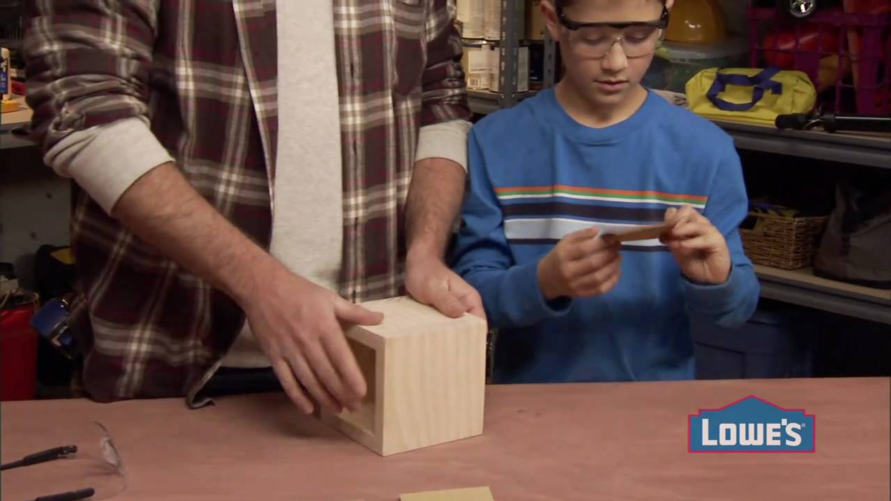 Woodworking Projects for Kids: How to Build a Box - YouTube