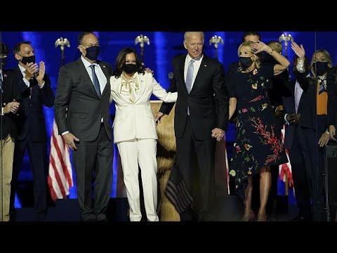 Biden inicia una era de reconciliación