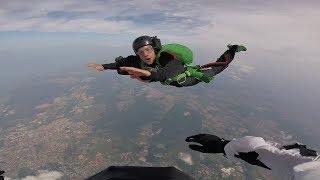BNT 228 Mój pierwszy skok ze spadochronem 4000m. (Szkolenie AFF Strefa Baltic)