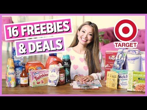 ★ 16 FREEBIES & Deals - Target Couponing Haul (4/14- 4/20)