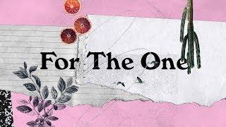 For The One (Official Lyric Video) - Judah Valenzuela + Bekah Riddle | BRIGHT ONES