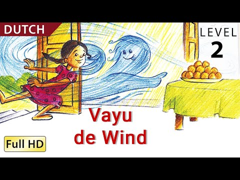 "Vayu, the Wind: Learn Dutch with subtitles - Story for Children ""BookBox.Com"""