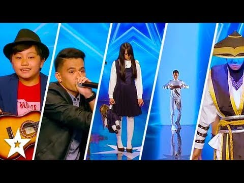 TOP 5 MOST AMAZING AUDITIONS on Asia's Got Talent 2017 | Got Talent Global
