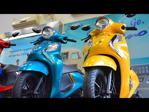 video Yamaha Fascino 125 Fi BS6