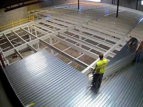 Mezzanine Install Time Lapse (Camera 1)