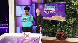A Lucky Fan Rolls Down 'Ellen's Road to Riches'