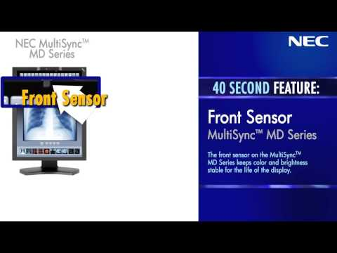 NEC Displays Front Sensor MultiSync MD Series