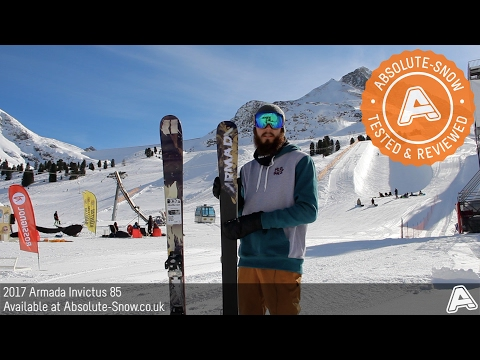 2016 / 2017 | Armada Invictus 85 Skis | Video Review
