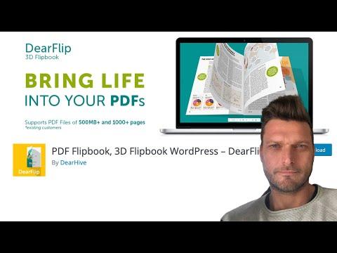 ✅  DEARFLIP PDF FLIPBOOK 3D ➡️  MUESTRA TUS PDFs COMO UN LIBRO