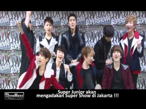 SUPER JUNIOR LIVE in JAKARTA (GREETING FROM SUPER JUNIOR)
