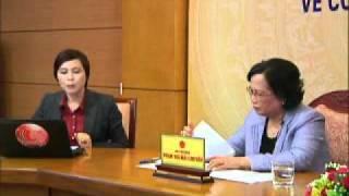 Bộ trưởng Bộ Lao động   Thương binh và Xã hội đối thoại trực tuyến về công tác an sinh xã hội