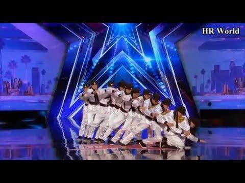 [Eng-Vietsub] Just Jerk: nhóm nhảy Hàn Quốc đổ bộ America's Got Talent với vũ đạo CHẤT LỪ (Vòng 1)!