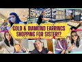 Gold & Diamond Jewellery *Earrings* Shopping For Dolly?!|Our Maggam Work Designs Selection & More||