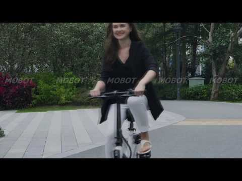 Most Compact eBike | VIRGO First Ultra Suspension Electric Bicycle
