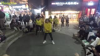 Nhảy cực chất của các nữ sinh cấp 2 seoul HÀN QUỐC tại khu hongdae[nghệ thực đường phố HÀN QUỐC]