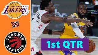 Los Angeles Lakers vs. Toronto Raptors Full Highlights 1st Quarter | NBA Season 2021