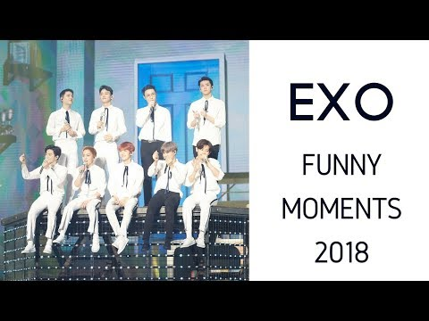 EXO funny moments 2018