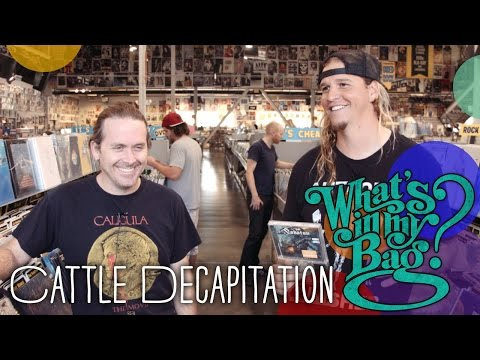 Cattle Decapitation - What's In My Bag?